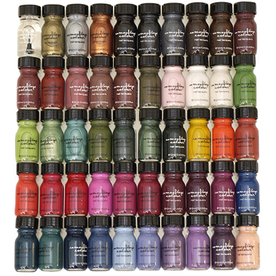 Camouflage Colour Nail Lacquers